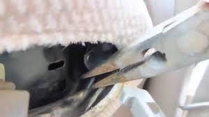 fix jammed car door lock youtube