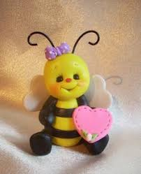 bumble bee cake toppers bumble bee cake topper polymer clay sculpture by linnypigs