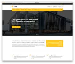 web templates website templates directory listing website theme 30 best construction company wordpress themes 2018 colorlib