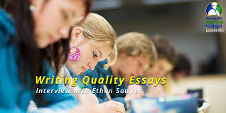 Writing Quality Essays Taming The High Cost of College