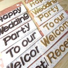 wedding statements kininaru rakuten global market welcome board wooden characters