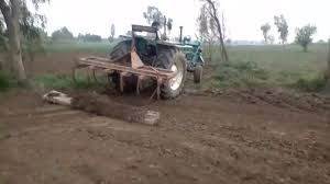 fiat 640 tractor plowing in fields today at sangla hill must watch