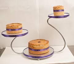 bespoke pork pie wedding cakes cannon hall farm cannon hall farm