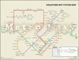 Marta Rail Map Wonderful 20 Mrt Maps Of Singapore Mrt Network Map Smrt Map