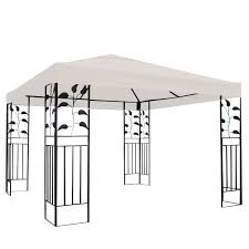 For Living Gazebo Cover by 10 U0027 X 10 U0027 1 Tier Or 2 Tier 3 Colors Patio Canopy Top Replacement