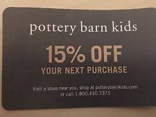 Pottery Barn Online Coupons Pottery Barn Kids Coupons Ebay