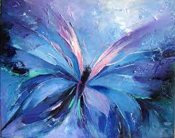 abstract butterfly paintings butterfly blue abstract blue