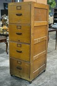 Vintage Oak Filing Cabinet Vintage Wood File Cabinet S S Antique Wood File Cabinet Craigslist