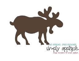 moose template 80 best sizzix dies images on stencils moose and crafts