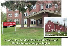 bernie sanders house in vermont bernie sanders daughter got paid 500 000 to teach woodworking at