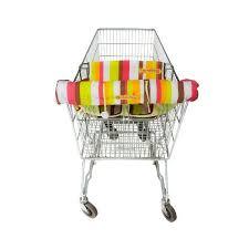 siège bébé caddie badabulle protège siège pour chariot multicolore achat vente