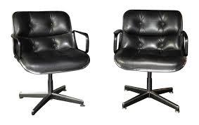 fauteuil de bureau cuir fauteuil de bureau vintage en cuir charles pollock 1960 design