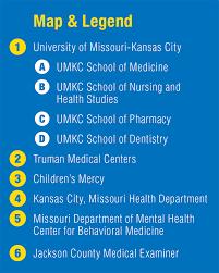 Umkc Campus Map Health Sciences District