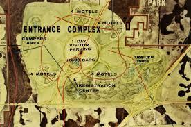 Epcot Center Map Master Plan The Original E P C O T