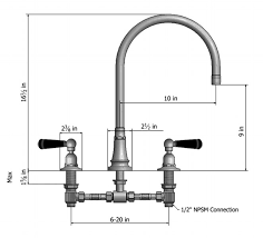 kitchen faucet spout widespread kitchen faucets