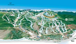 Breckenridge Ski Map Vail Co Trail Map Webcams