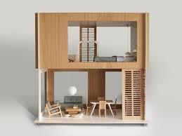 Dollhouse Modern Furniture by 74 Best Modern Dollhouse Images On Pinterest Dollhouses