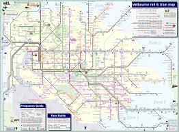 Chicago Trolley Map by Melbourne Map Online Map