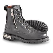 white biker boots women u0027s red wing side zip biker boots black 184339