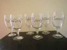 diy monogram wine glasses personalized wine glasses new and improved