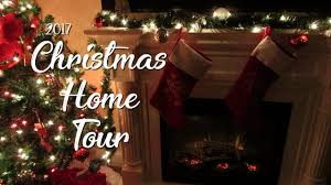 christmas home tour 2017 traditional holiday home decor lauren