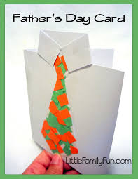 little family fun father u0027s day card collage tie