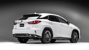 lexus hybrid 2016 three row lexus rx confirmed