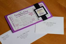 wedding invitations jamaica boarding pass invitations for a destination wedding