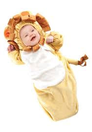 Lion Halloween Costume Toddler Infant Lion Bunting