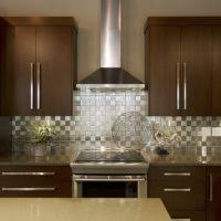 accessories for kitchen decoration using square black stainless