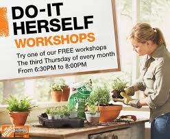 Home Depot Flower Projects - do it herself workshop a giveaway c r a f t