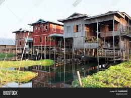 floating houses traditional floating houses image u0026 photo bigstock