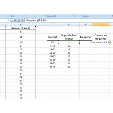 Relative Frequency Table Definition How To Use The Frequency Function In Microsoft Excel