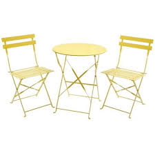 Tesco Bistro Table Buy Charles Bentley 3 Piece Metal Bistro Set Garden Patio Table