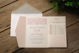 invitation kits pocket wedding invitations kits wedding party decoration