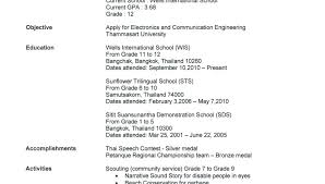 resumes for high students skills resume exle of college resume