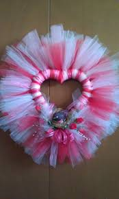 Halloween Tulle Wreath by 58 Best Valentine Tulle Images On Pinterest Tulle Wreath