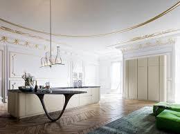 Snaidero Kitchens Design Ideas Contemporary Kitchen Design With Sculptural Kitchen Island Worktop