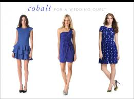 royal blue wedding guest dress oasis amor fashion