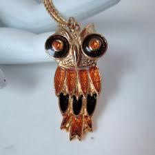 vintage owl necklace jewelry images Owl jewelry vintage virtue JPG