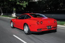 how many types of ferraris are there collectible 1997 2002 550 maranello