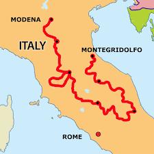 Modena Italy Map Results Via Flaminia Classic