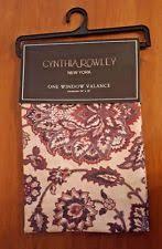 Cynthia Rowley Drapery Cynthia Rowley Polyester Curtains Drapes U0026 Valances Ebay