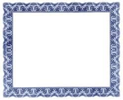 Free Online Certificate Template 3 Blank Free Certificate Templates Blank Certificates