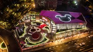 disney store opens its first and largest store in the world in