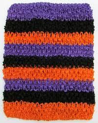 crochet headband tutu baby girl crochet headbands 8 inch orange black tutu halter top