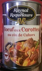 boeuf cuisiné bœuf aux carottes cuisiné au vin de cahors raynal et roquelaure