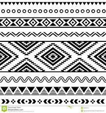 aztec warrior clipart border pencil and in color aztec warrior