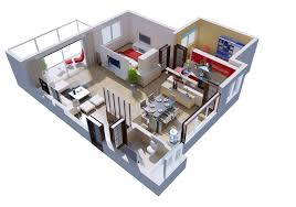 3d interior home design posh house interior 3d cgtrader