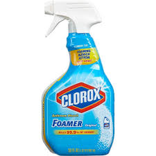 Can You Clean Laminate Floors With Bleach Clorox 30 Oz Bleach Foamer 4460030614 The Home Depot
